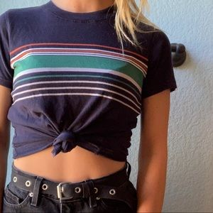 urban outfitters BDG striped top size XS